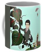 Rowan Atkinson Mr Beanstalk Coffee Mug