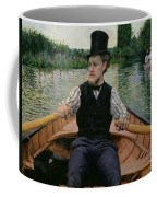 Rower In A Top Hat Coffee Mug