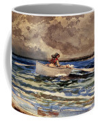 Rowing At Prouts Neck Coffee Mug