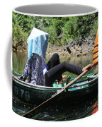Rowing Boat With Legs, Tam Coc  Coffee Mug