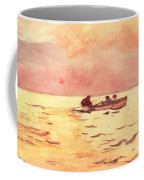 Rowing Home Coffee Mug by Winslow Homer
