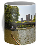 Rowing In Central Park Coffee Mug