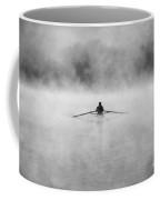Rowing On The Chattahoochee Coffee Mug by Darren Fisher
