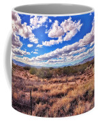 Rows Of Clouds Over Sonoran Desert Coffee Mug