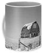 Royal Barn Winter Bnw Coffee Mug