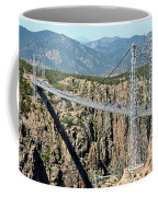 Royal Gorge Bridge In Summer Coffee Mug