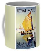 Royal Mail Atlantis Autumn Cruises Vintage Travel Poster Coffee Mug