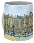 Royal Palace In Madrid In A Beautiful Summer Day, Spain Coffee Mug