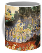Royal Palace Ramayana 08 Coffee Mug