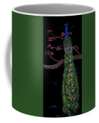 Royal Peacock Coffee Mug