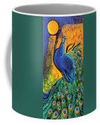 Royal Peacock Coffee Mug