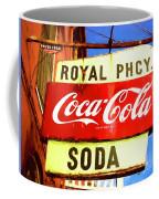 Royal Phcy Coke Sign Coffee Mug