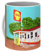 Rt 66 Shell Station Coffee Mug