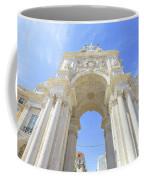 Rua Augusta Triumphal Arch Coffee Mug