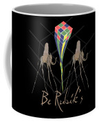 Rubik's Cube And Salvador Dali Elephants Coffee Mug
