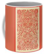 Rubino Red Floral Coffee Mug
