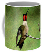 Ruby Red - Digital Art Coffee Mug