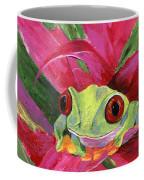 Ruby The Red Eyed Tree Frog Coffee Mug