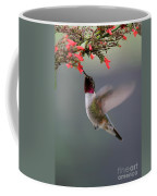 Ruby Throated Hummingbird Coffee Mug