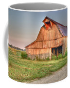 Ruddish Barn At Dawn Coffee Mug