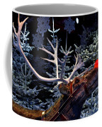 Rudolph With Your Nose So Bright Coffee Mug by Keenpress