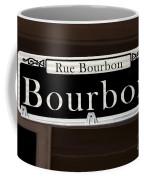 Rue Bourbon Street - New Orleans Coffee Mug