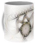 Ruffled Flower Coffee Mug