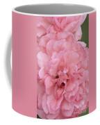 Ruffled Pink Rose Coffee Mug