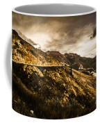 Rugged And Intense Mountain Background Coffee Mug
