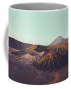 Rugged Mountainous Terrain Mount Bromo At Sunrise Coffee Mug