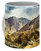 Rugged Mountains Of North India Coffee Mug
