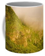 Rugged Volcanic Peaks Of Moorea Coffee Mug