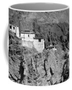 Ruins And Basgo Monastery Surrounded With Stones And Rocks Ladakh Coffee Mug
