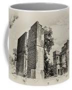 Ruins At Jamestown Coffee Mug