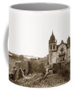Ruins Of Carmel Mission, Monterey, Cal. Circa 1882 Coffee Mug