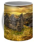 Ruins Of Snowdonia Panorama Coffee Mug