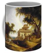 Ruins Of The Naurattan Coffee Mug by Thomas Daniell