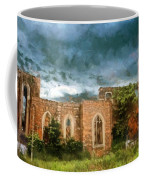 Ruins Under Stormy Clouds Coffee Mug