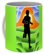 Run Coffee Mug by Stephen Younts