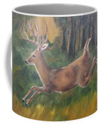 Running Buck Coffee Mug