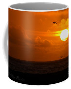 Running By Dusk Coffee Mug