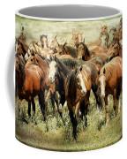Running Free Horses IIi Coffee Mug