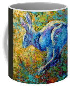 Running Hare Coffee Mug