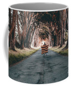Running In The Forest Coffee Mug