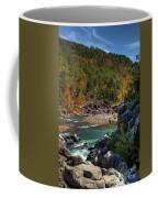 Running Into Autumn Coffee Mug