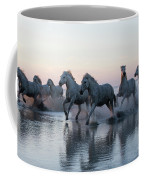 Running Into The Sunset Coffee Mug
