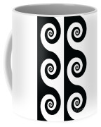 Running Spirals Coffee Mug
