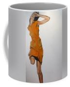 Running Woman Coffee Mug