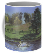 Rural Landscape Painting Of Bauer Farm Coffee Mug