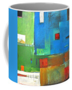 Rural Landscape Rusted Coffee Mug